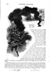This image is a facsimile of page 332 of the sixth installment of The War of the Worlds as it was published in Pearson's Magazine in September of 1897.