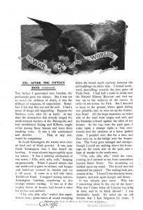 This image is a facsimile of page 736 of the ninth installment of The War of the Worlds as it was published in Pearson's Magazine in December of 1897.