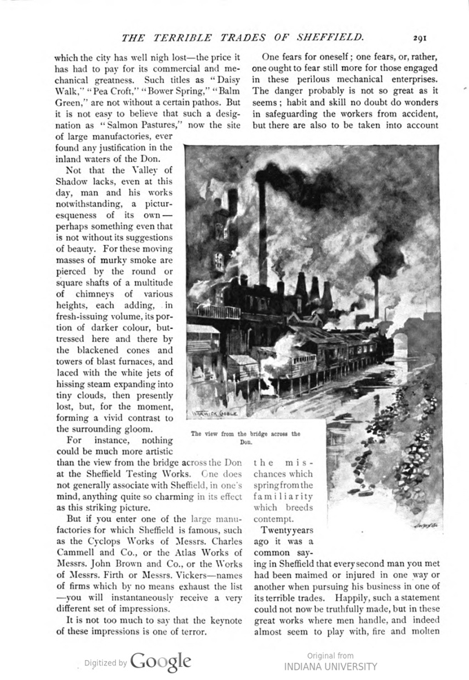 This image is a facsimile of page 291 of the March 1897 issue of Pearson's Magazine.