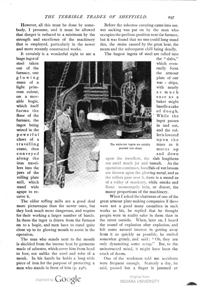 This image is a facsimile of page 297 of the March 1897 issue of Pearson's Magazine.